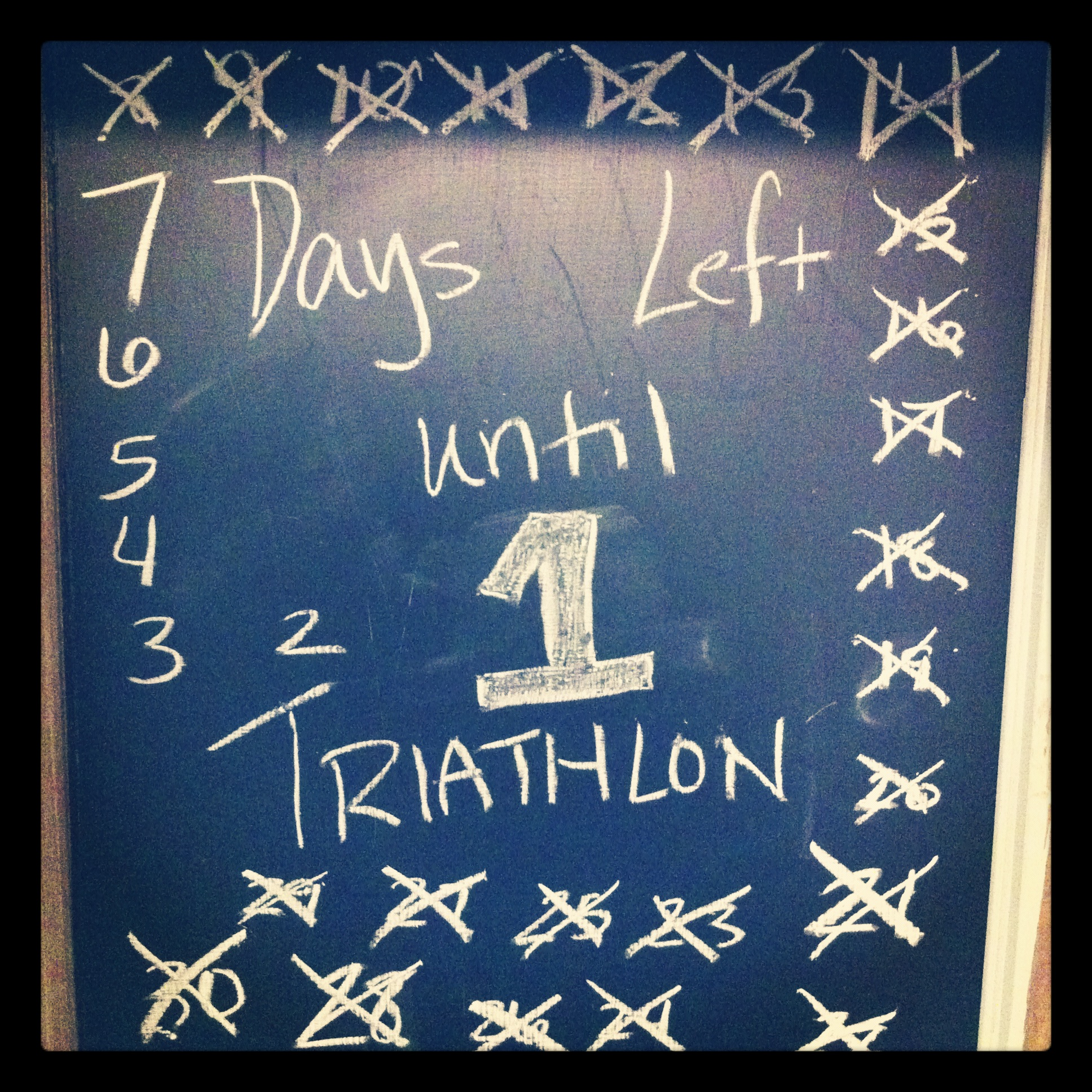one week triathlon ramblin' rose countdown stolen colon ostomy blog