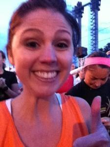 Stephanie Hughes rock'n'roll las vegas half marathon race team challenge ccfa crohns blog ostomy stolen colon
