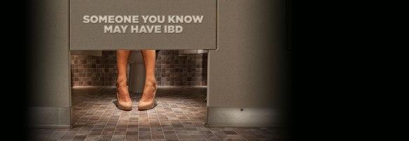 CCFA escape the stall ad campaign stolen colon crohns ibd ostomy blog